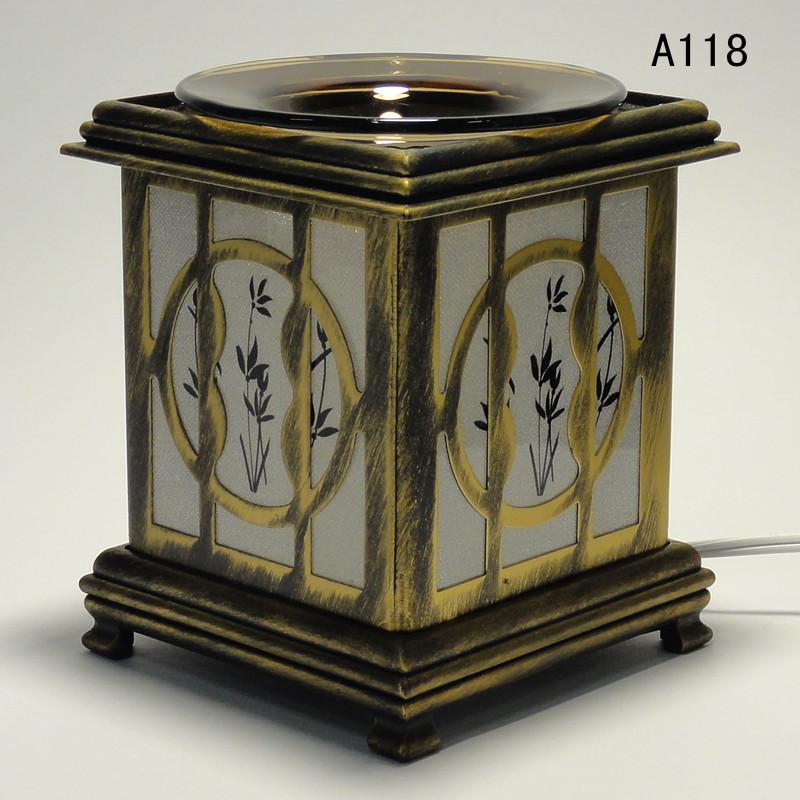 Electric Fragrance Warmers ~ Aluminum electric scent oil tart diffuser warmer burner