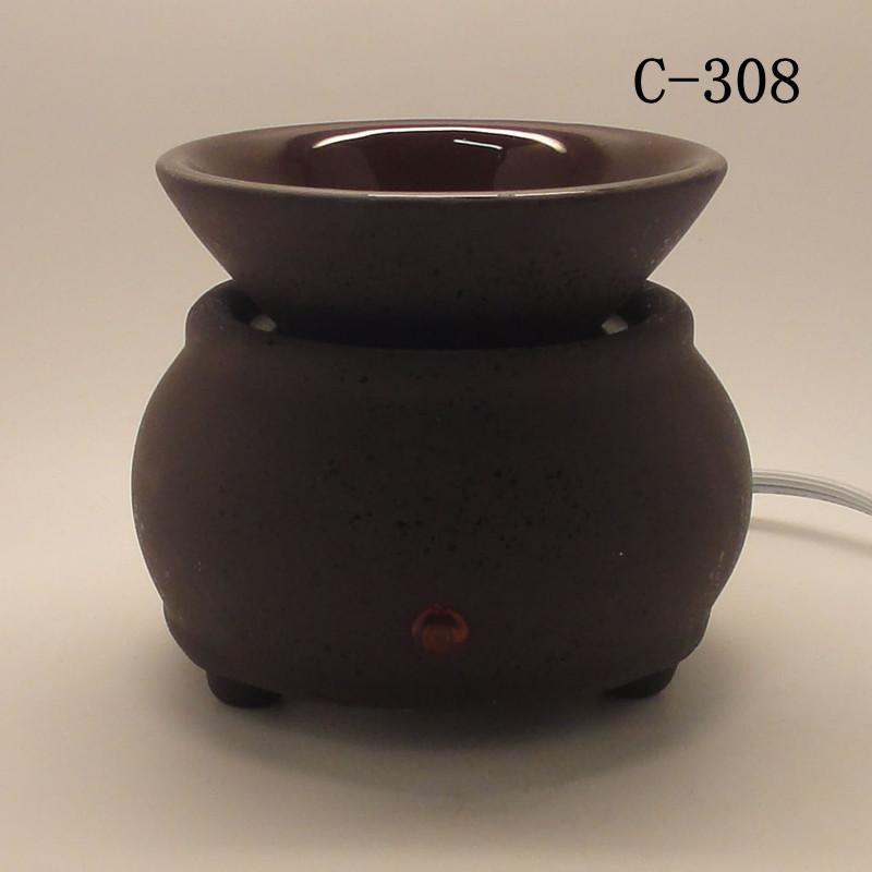 Ceramic Candle Warmer ~ Ceramic electric scent oil tart diffuser warmer burner
