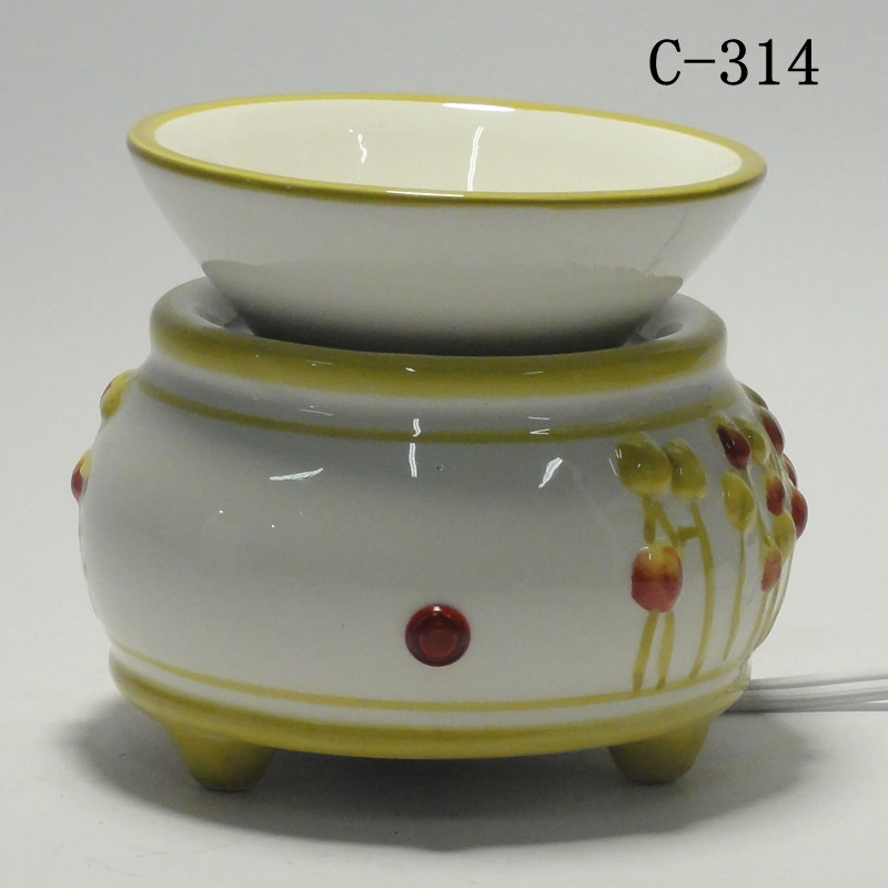 Electric Scent Warmers ~ Ceramic electric scent oil tart diffuser warmer burner
