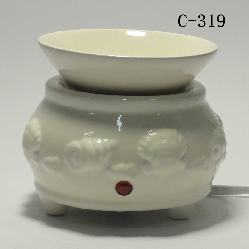 Electric Fragrance Warmers ~ Ceramic electric scent oil tart diffuser warmer burner