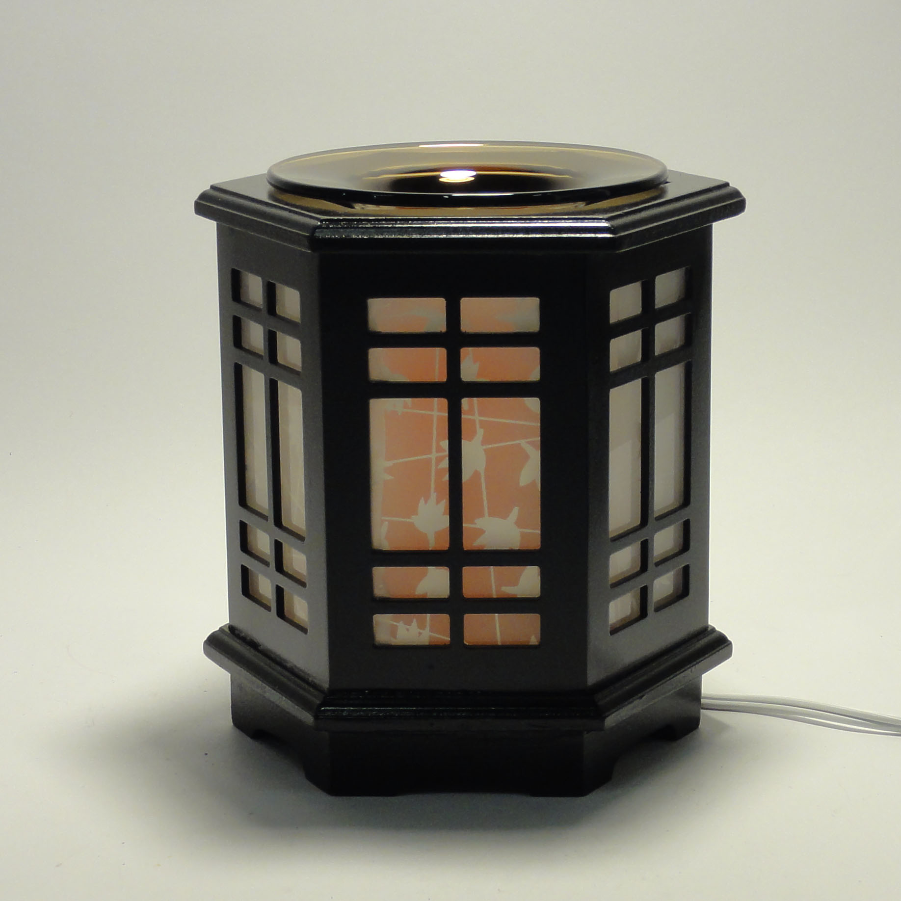 Electric Oil Warmers ~ Japanese wooden electric scent oil diffuser warmer