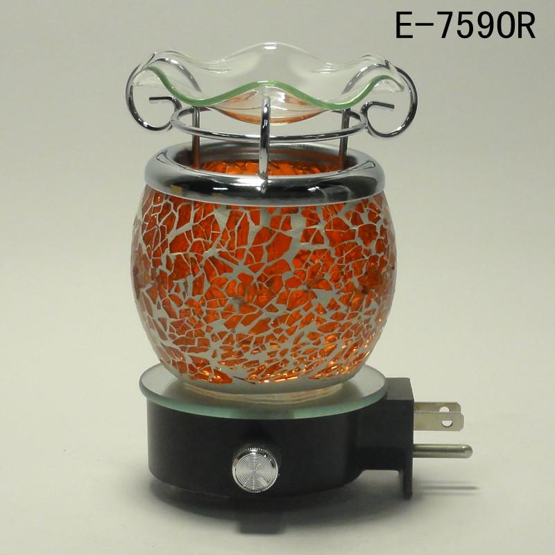 "Scent Shop Night Lights: Electric ""Crushed Glass"" Scent Oil Diffuser Warmer Aroma"