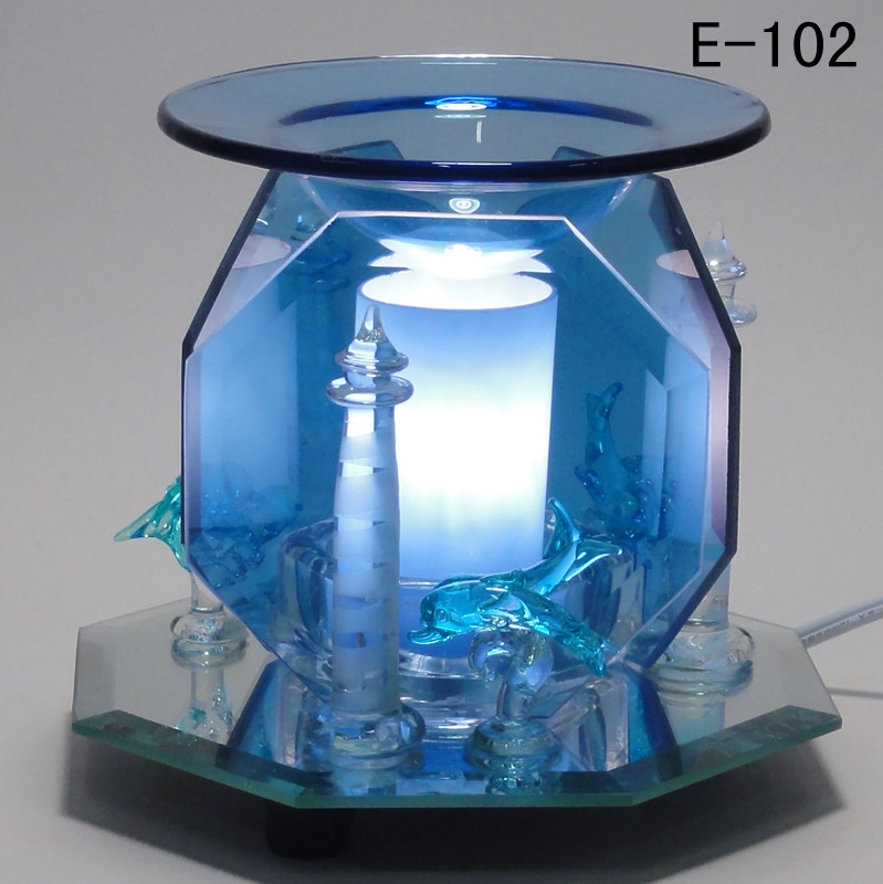 Electric Fragrance Warmers ~ Glass electric animal scent oil diffuser warmer burner