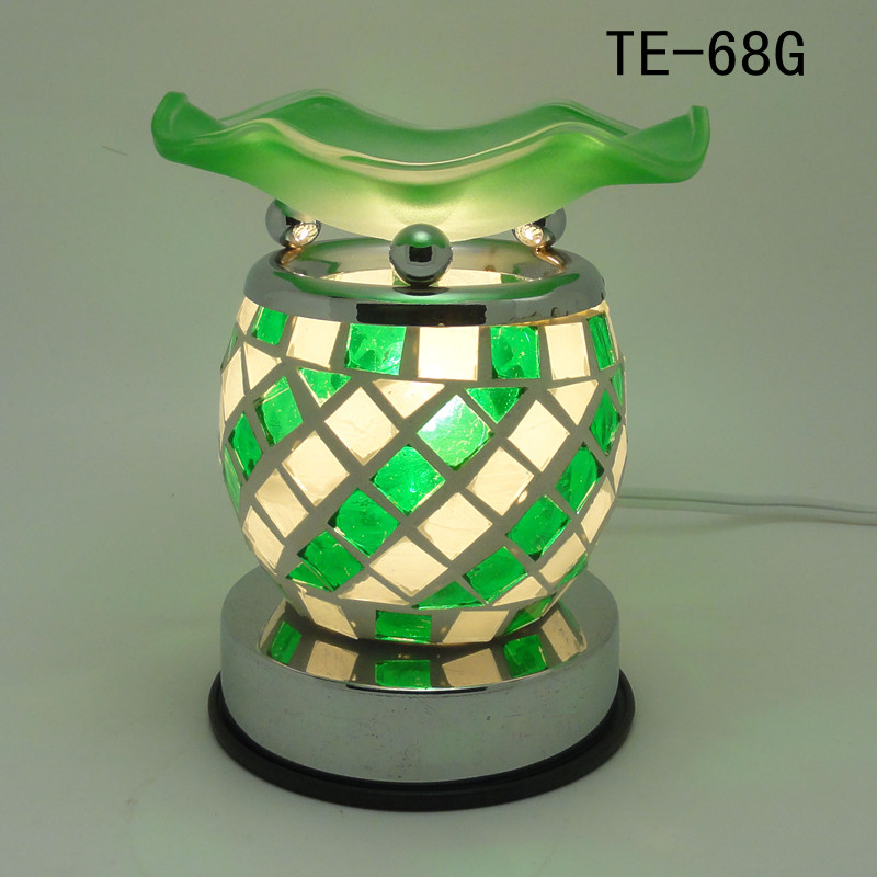 Mosaic Glass Electric Scent Oil Diffuser Warmer Burner