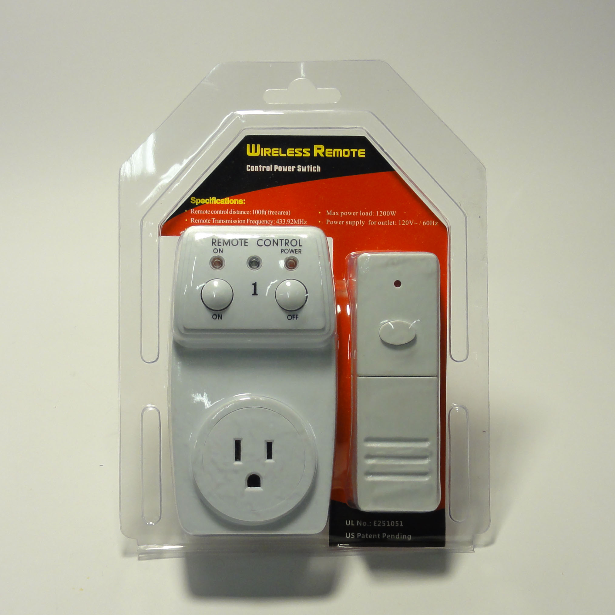 Remote Control Outdoor Wall Lights : Wireless Remote Control Outlet 1 Pack AC Power Light Switch Socket Plug Switch eBay